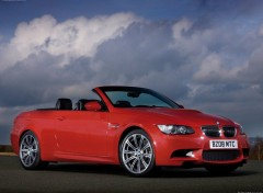 Fonds d'écran Voitures BMW M3 Convertible UK Version (2009)