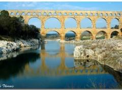 Fonds d'écran Voyages : Europe Pont du Gard