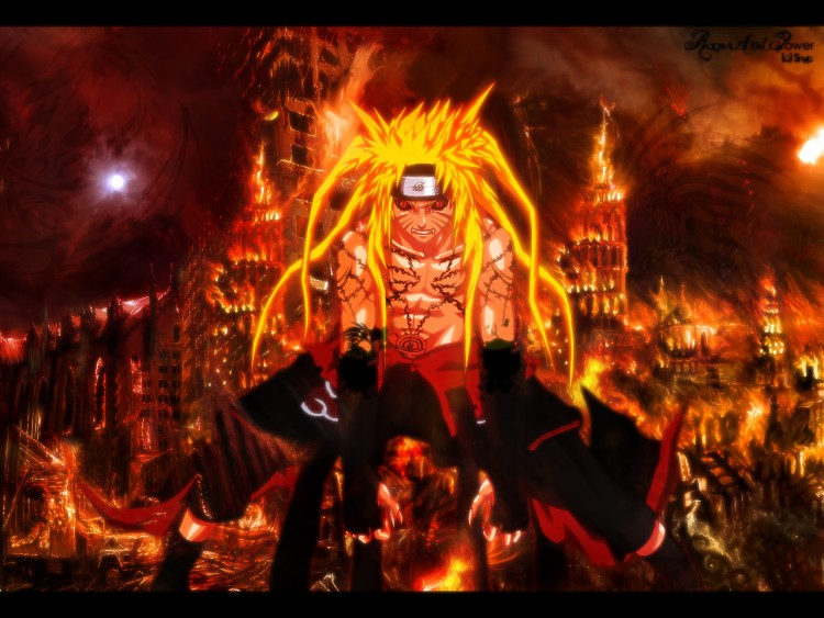 Wallpapers Manga Naruto Rage And Honour