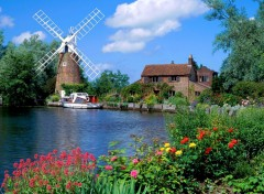 Fonds d'écran Voyages : Europe Hunsett Mill, Norfolk