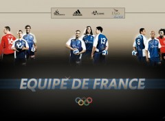 Wallpapers Sports - Leisures Equipe de France - JO Pékin 2008