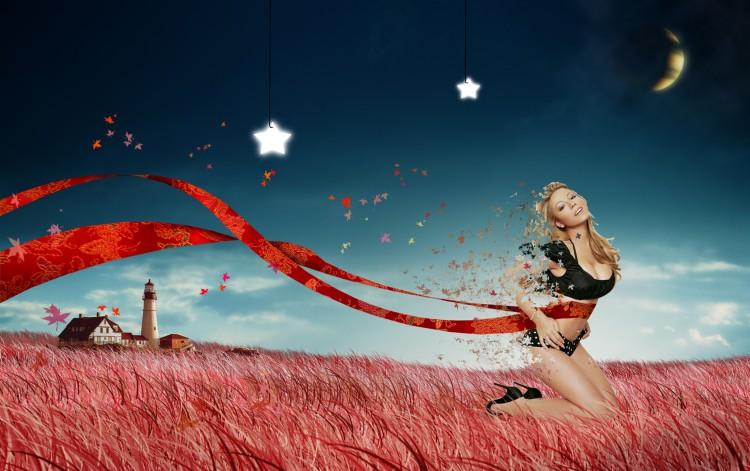 Wallpapers Digital Art Women - Femininity ambiance
