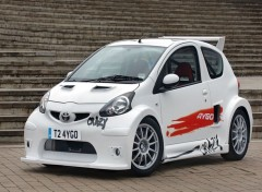 Wallpapers Cars Toyota Aygo Crazy Concept 2008