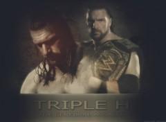 Fonds d'écran Sports - Loisirs Triple H 'The Cerebral Assassin'