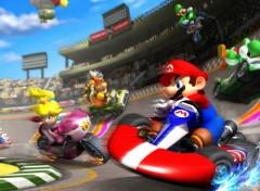 Fonds d'écran Jeux Vidéo Mario Kart Wii