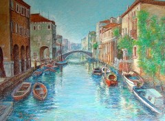 Wallpapers Art - Painting Venezia