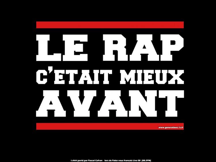 Fonds d'écran Musique Divers Rap Le Rap c'était mieux avant