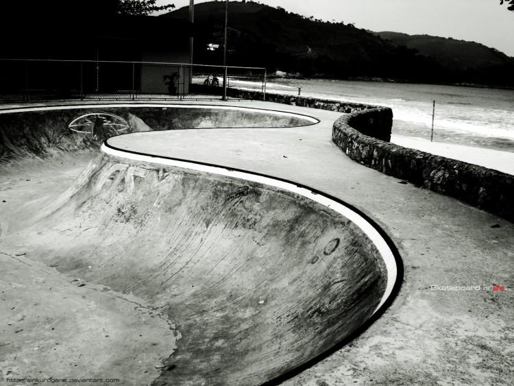 Fonds d'écran Sports - Loisirs Skate - Roller Skateboard is life.
