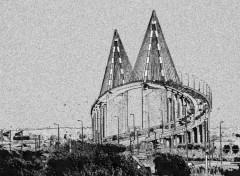 Fonds d'écran Art - Numérique Pont de Saint Nazaire (Loire Atlantique)