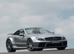 Fonds d'écran Voitures Mercedes-Benz SL 65 AMG Black Series (2009)