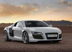 Fonds d'écran Voitures Audi R8 grise