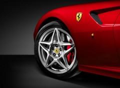 Fonds d'écran Voitures Ferrari 599 rouge