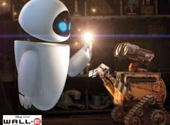 Fonds d'écran Dessins Animés Wall-E le nouveau robot de Pixar