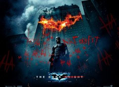 Wallpapers Movies Batman the dark Knight: Signé le Joker