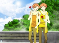 Fonds d'écran Manga les jumeaux