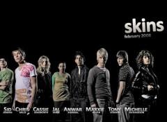 Fonds d'écran Séries TV Skins - Cast Saison 2