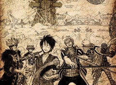 Fonds d'�cran Manga New World Rulers