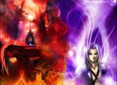 Fonds d'écran Jeux Vidéo Vincent VS Sephiroth