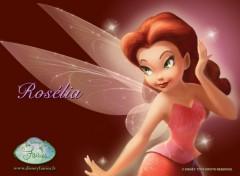 Fonds d'écran Dessins Animés La Fée Clochette (Rosélia)
