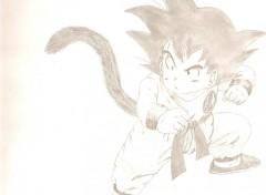 Fonds d'écran Art - Crayon sangoku