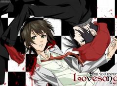 Fonds d'écran Manga miharu et yoite