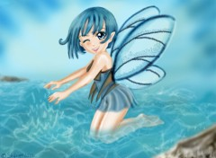 Wallpapers Fantasy and Science Fiction Water faery