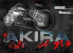 Fonds d'écran Manga Kaneda Motorcycle