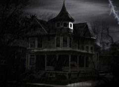 Fonds d'écran Art - Numérique haunted house