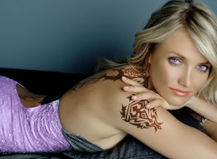Wallpapers Celebrities Women cameron diaz tatoo