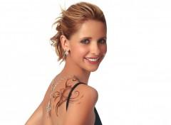 Wallpapers Celebrities Women sarah michelle gellar tatoo 2