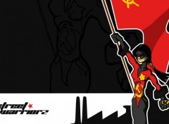 Fonds d'écran Art - Numérique street warriorz