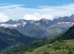 Fonds d'écran Nature Les Pyrénées au col du Pourtalet