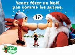 Fonds d'écran Constructions et architecture Noël Parc Asterix