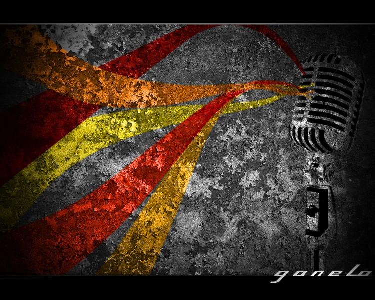 Fonds d'écran Art - Numérique Graffitis - Typographie Retro Color Micro