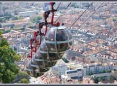 Fonds d'écran Transports divers Les Bulles sur Grenoble