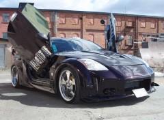 Wallpapers Cars Nissan 350Z named Mr_Z Tuning by Lookas Koos