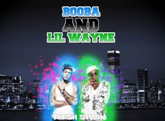 Wallpapers Music Booba and Lil wayne