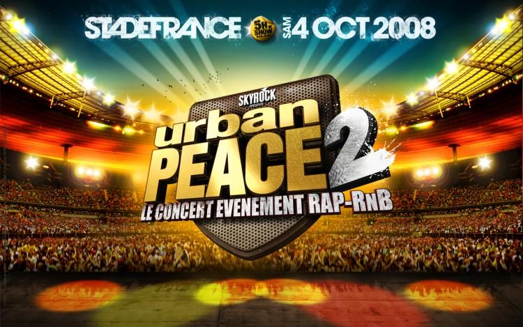 Fonds d'écran Musique Divers Rap Urban peace 2