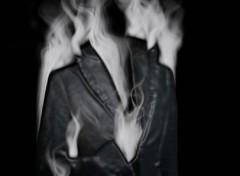 Wallpapers Digital Art Sarah part en fumée