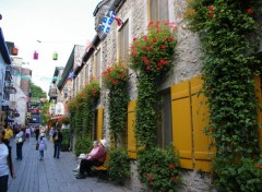 Wallpapers Trips : North America rue du Petit Champlain