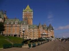 Wallpapers Trips : North America Le château Frontenac