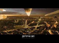 Wallpapers Digital Art meteor art paris
