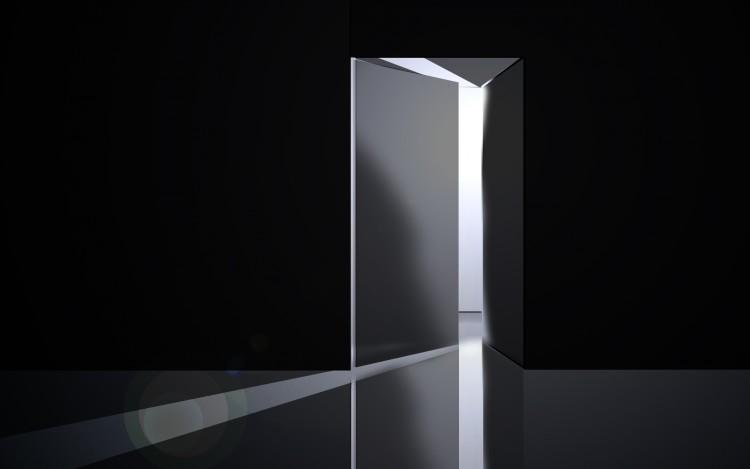fond d'ecran 3d blanc