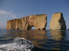Fonds d'écran Voyages : Amérique du nord le rocher percé à Percé