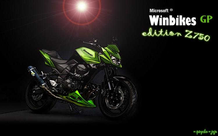 Wallpapers Motorbikes Z 750 2009