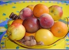 Fonds d'écran Nature Coupe de fruits