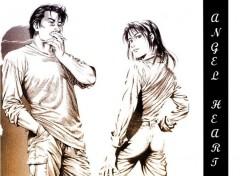 Fonds d'écran Manga shanin et saeba