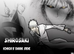 Fonds d'écran Manga Bleach - Shirosaki, Ichigo's Dark Side