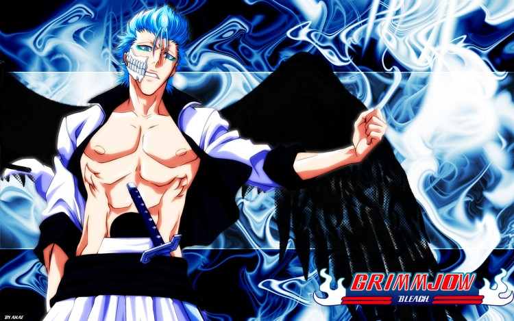 Fonds d'écran Manga Bleach Grimmjow Abstract 3