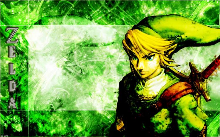 Fonds d'écran Jeux Vidéo Zelda Zelda Tribal smudge